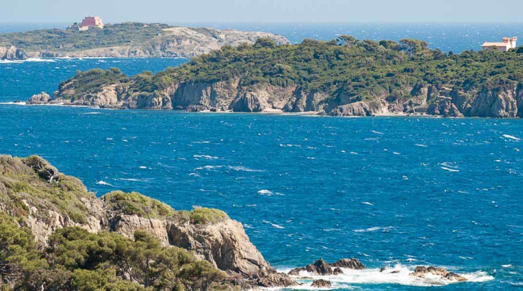 Les îles d'or : Porquerolles, Port-Cros et le Levant